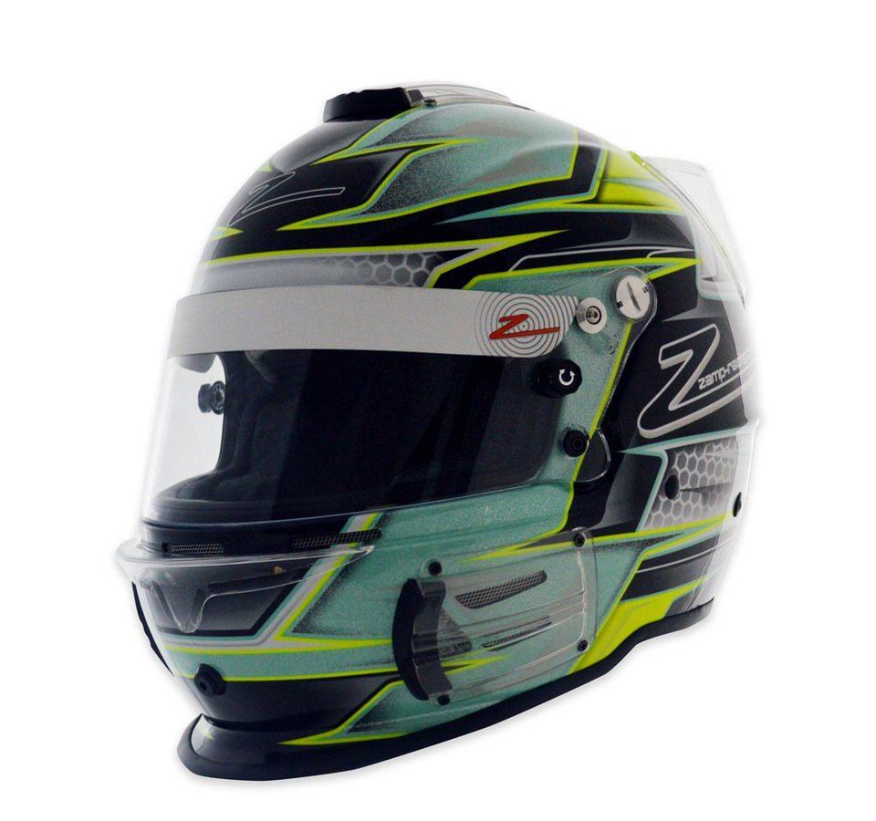 Helmet RZ-42 Large Graphic Green/Silvr SA15