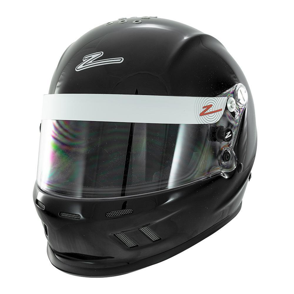 Zamp H75700354 Helmet, RZ-37Y, SFI 24.1 / D.O.T, Black, Small, Each