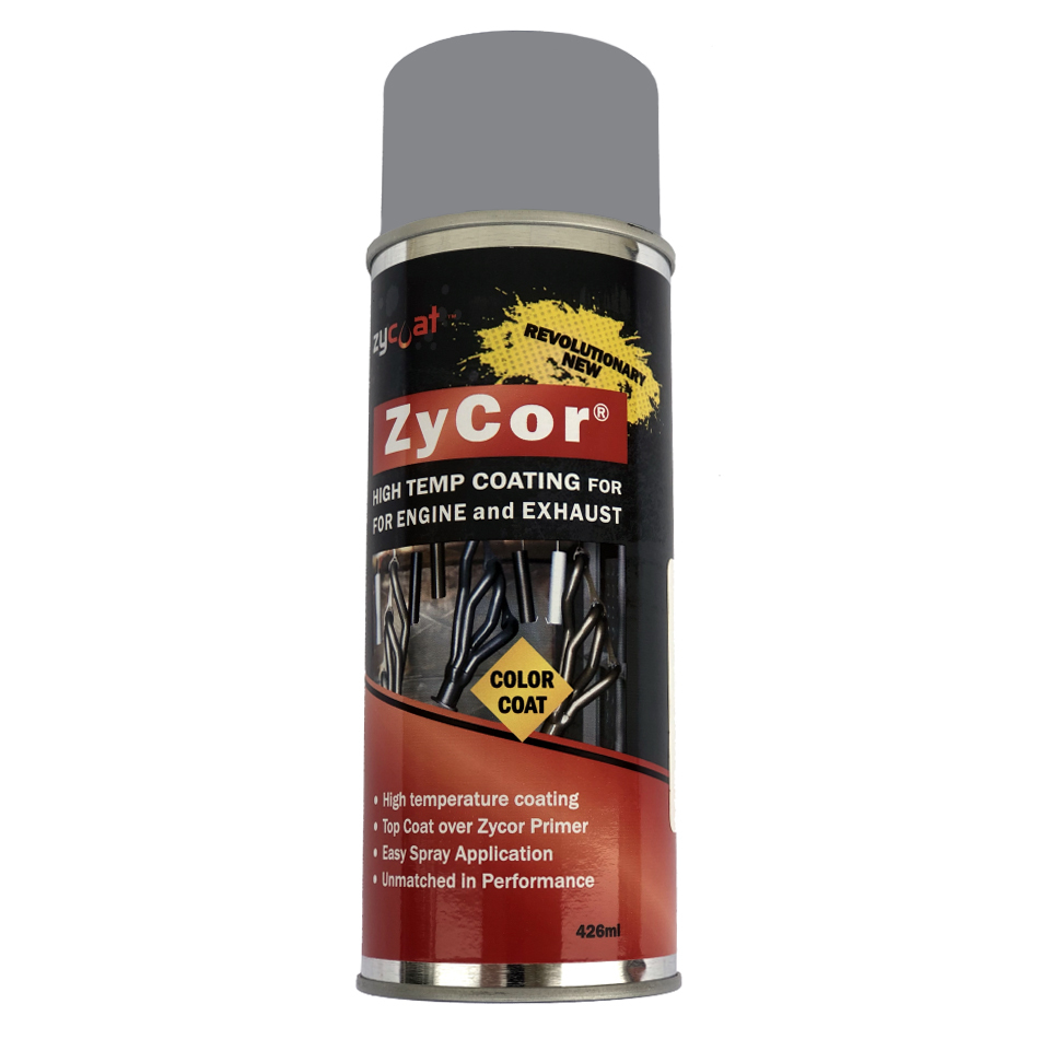 Zycoat 16013 Paint, ZyCor, Porsche Gray, 13 oz Aerosol, Each