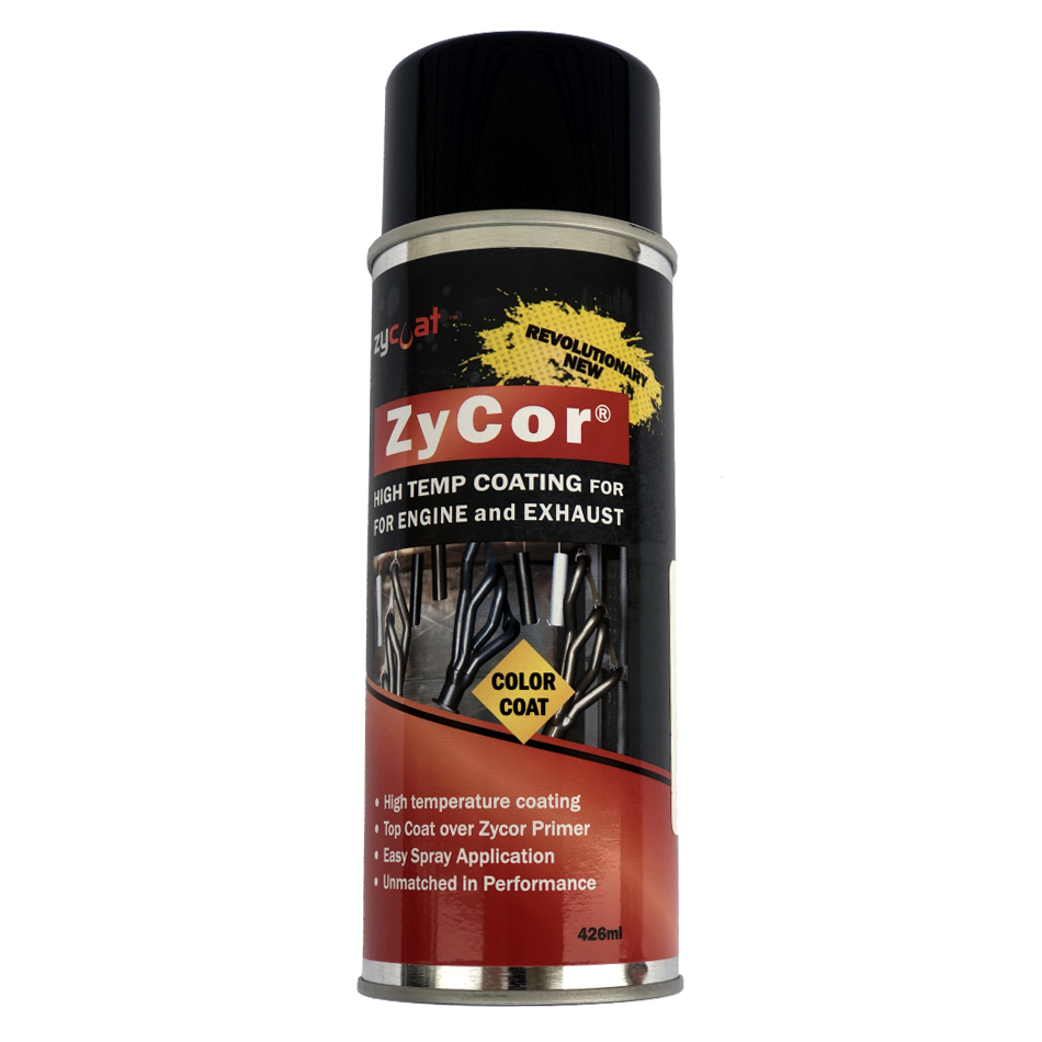 Zycoat 19013 Paint, ZyCor, Bitchin Black, 13 oz Aerosol, Each