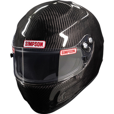Simpson Devil Ray, Snell SA2020, Head and Neck Support Ready, Carbon Fiber, Medium